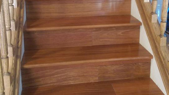 Solid Plank Cherry Hardwood Flooring
