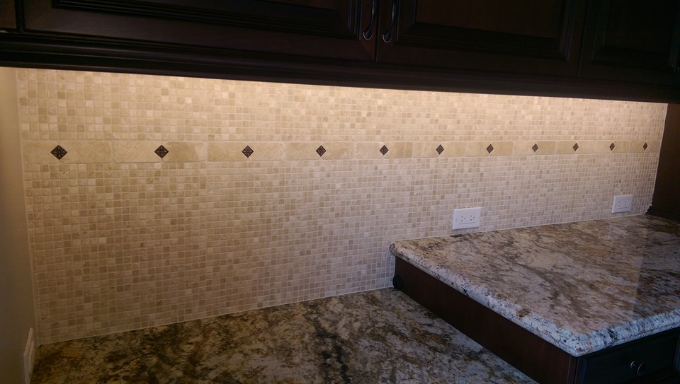 Procelian Kitchen Backsplash