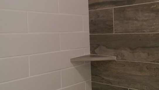 Ceramic Porcelain Tile Shower