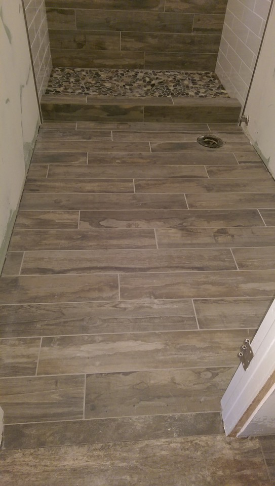 ceramic porcelain tile shower