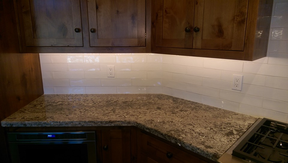Ceramic Tile Back Slash